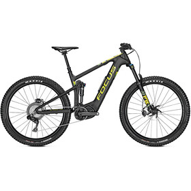 FOCUS Jam² 9.7 Plus Di2 E-MTB fullsuspension sort
